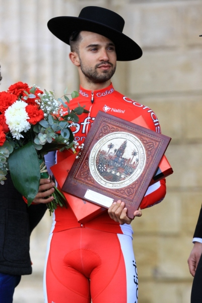 Nacer Bouhanni vincitore tappa Cordova (JC Faucher)