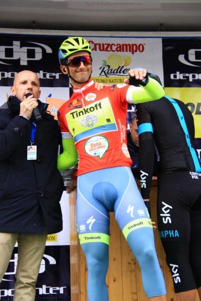 Daniele Bennati alla partenza (Foto JC Faucher)