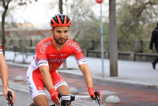 Bouhanni verso la partenza (Foto JC Faucher)