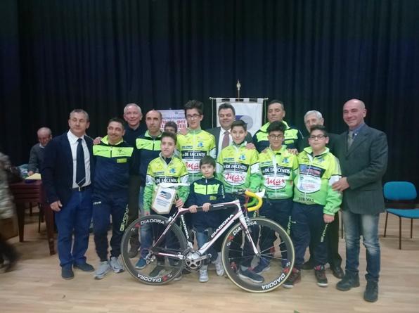 Una Rappresentanza del Ciclismo Giovanile