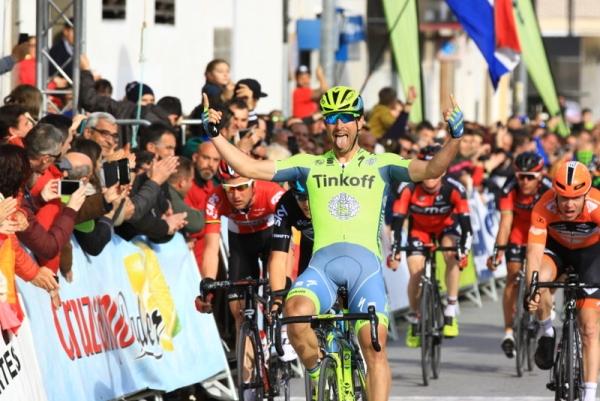 Oscar Gatto vince 3^ tappa Ruta del Sol-Giro dell'Andalusia (Foto Jean Claude Faucher)