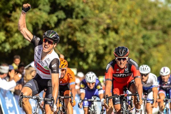 Il Norvegese Edvald Boasson Hagen vince la 5^ tappa del 7^ Giro dell'Oman (Foto Muscat Municipality)