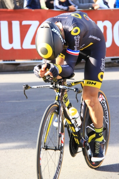 Corridore Direct Energie in azione (Foto JC Faucher)