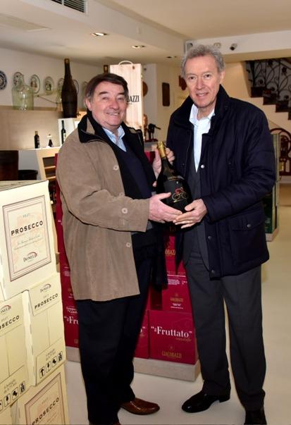 Il famoso vino..il famoso cambio...-Giacobazzi e Campagnolo A VOLTE RITORNANO... (Foto Armanden)