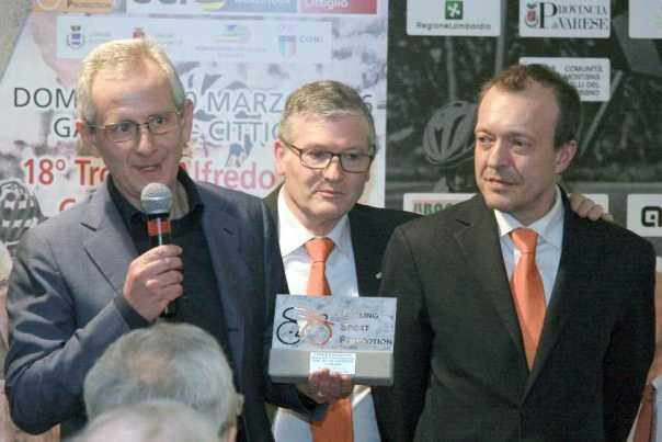 Da sx, Luca Gialanella, Mario Minervino e Fabrizio Anzani (Foto Sansottera)