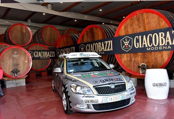 Il Marchio Giacobazzi in pole position (Foto Armanden)