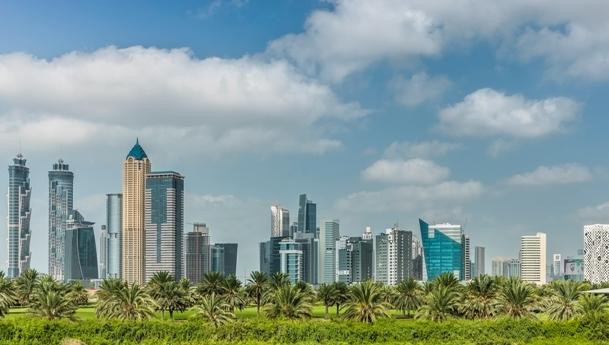 gRATTACIELI DI dUBAI (foto aNSA)