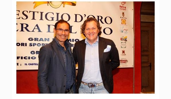 Il CT Davide Cassani col Consigliere Nazionale FCI Corrado Lodi