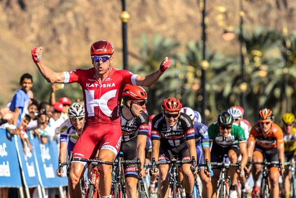 Alexander Kristoff vince 6^ tappa del 7^ Giro dell'Oman (Foto Muscat Municipality)