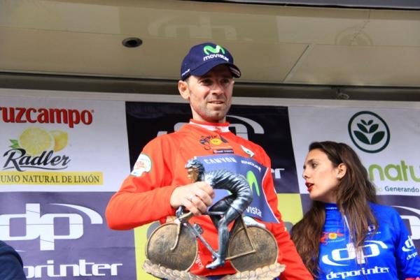 Alessandro Valverde sul podio (Foto JC Faucher)