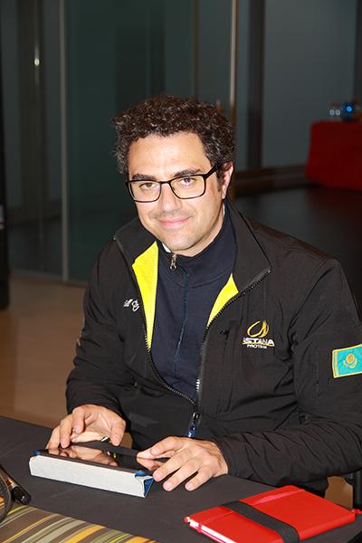 Matteo Cavazzutti, Addetto Stampa (Foto Kia)