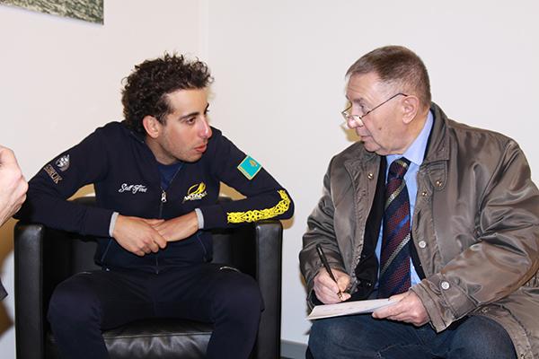 L'intervista a Fabio Aru (Foto Kia)