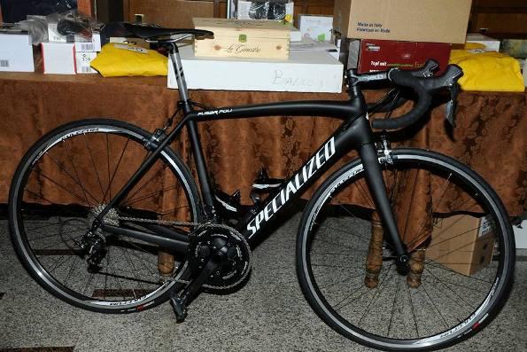 Bicicletta in dotazione alla squadra Juniores