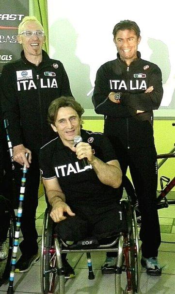 Serata di gala in onore Nazionale Paralimpica Tricolore d'Italia