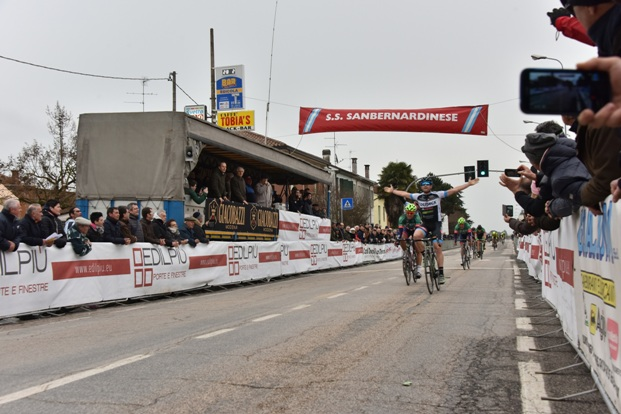 Riccardo Minali vince la 57^ Coppa San Bernardino di Lugo (Foto di Armanden-Nonantola)