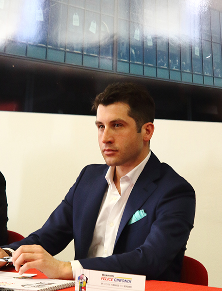 Claudio Masnada Direttore Marcketing Bianchi (Foto Kia Castelli)