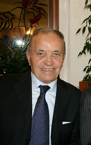 Ferdinando Turati, presidente onorario della Giovani Giussanesi deceduto il 29.10.2015