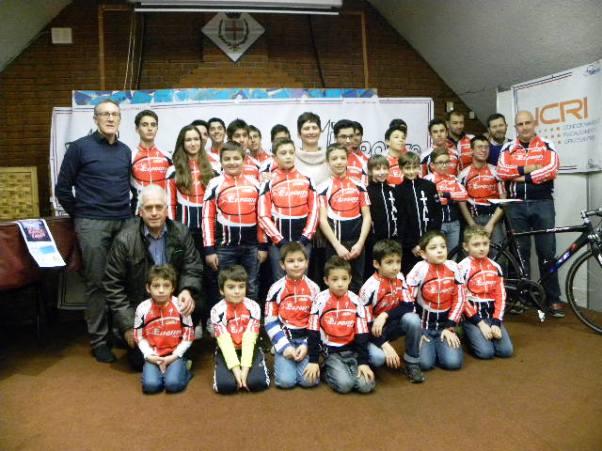 Assessore Giacomo Di Capua con tutti gli atleti (Foto Nastasi)