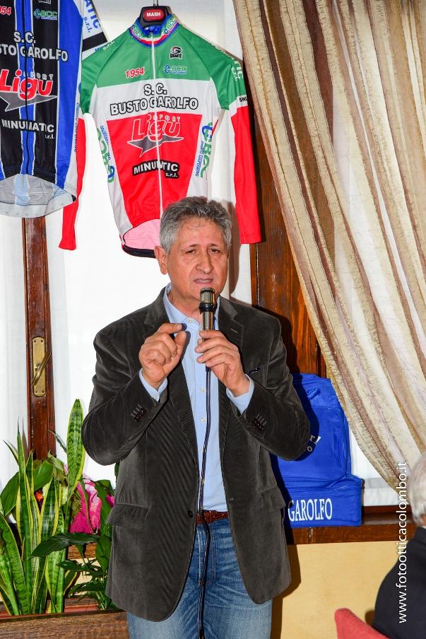 Il Presidente Marino Fusar Poli (Fotoottica Colombo)