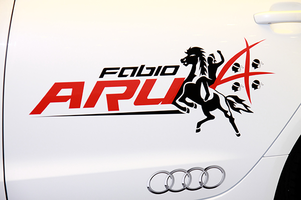 Logo del Cavaliere e i 4 Mori (Foto Kia)