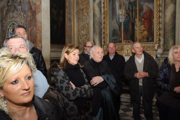 Durante la S. Messa (Foto Luca Venturi)