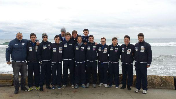 02.03.16 - Juniores Ciclistica Rostese a Diano Marina ritiro invernale