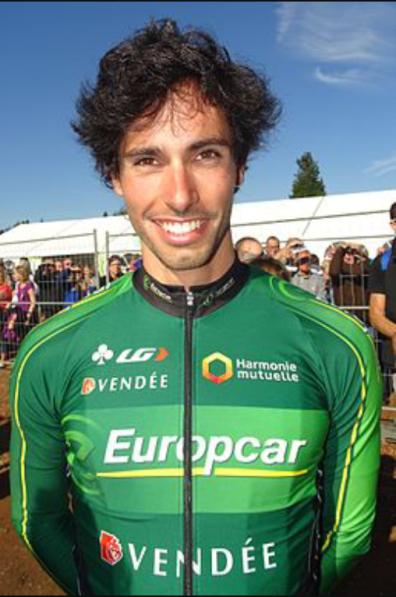 Romain Guyot, stagista del Team Europcar nel 2015