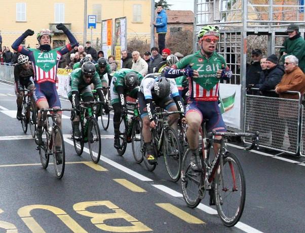 Marco Maronese, 2^ vittoria stagionale a Belriceto (Foto Rodella)