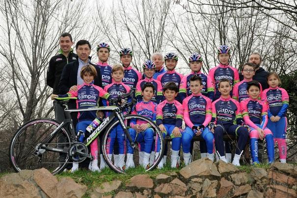 Ciclismo presentazione Sc Saronni 2016