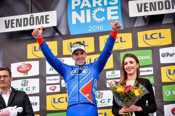 Paris-Nice 2016 - 07/03/2016 - Etape 1 - Condé-sur-Vesgre - Vendôme (198 Km) - DEMARE Arnaud, FDJ, vainqueur du jour (Foto Aso-G.