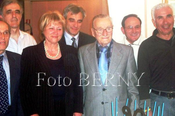 09.03.2009 il giorno in cui Francesco Prina festeggiò il suo 90^ Compleanno