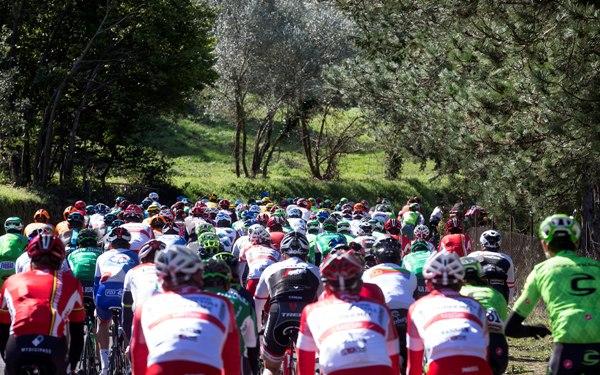 Tirreno Adriatico cycling race - FASE DI GARA (Foto Ansa)