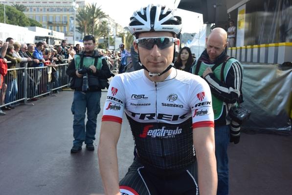 Niccolo^ Bonifazio al via (Foto Aldo Trovati)