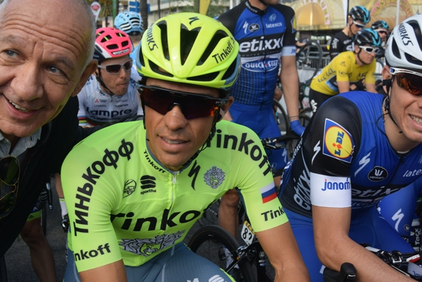 Alberto Contador (Foto Aldo Trovati)