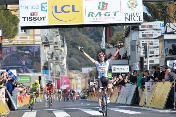 Paris-Nice 2016 - 13/03/2016 - Etape 7 - Nice > Nice - (141 km) - vainqueur de l'étape, WELLENS Tim, Lotto Soudal