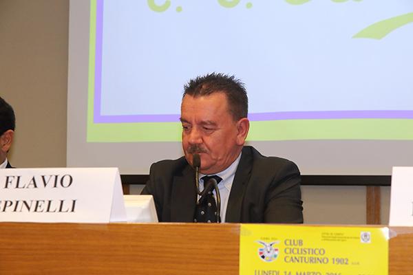 Presidente CC Canturino Flavio Spinelli (Foto Kia)