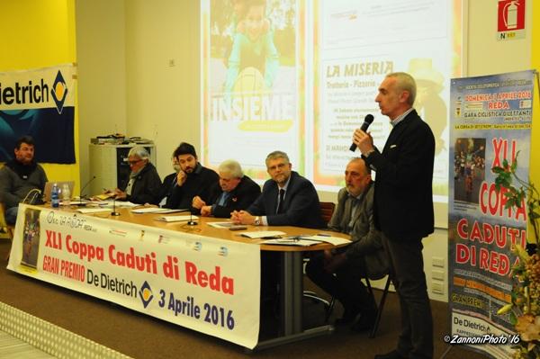 Da sx, Amadori, Carmellini, Calderoni, Sindaco di Faenza e Miserocchi