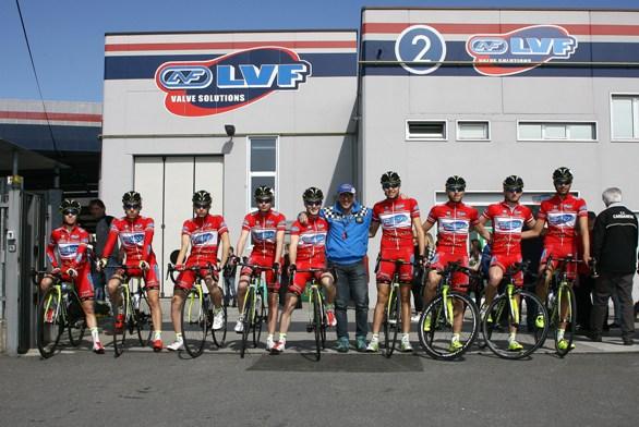 Squadra LVF organizzatrtice della gara (Foto Berry)