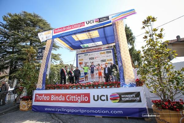 Copponi, Andersen e Paternoster, Podio 4^ Trofeo da Moreno-Piccolo Trofeo Alfredo Binda