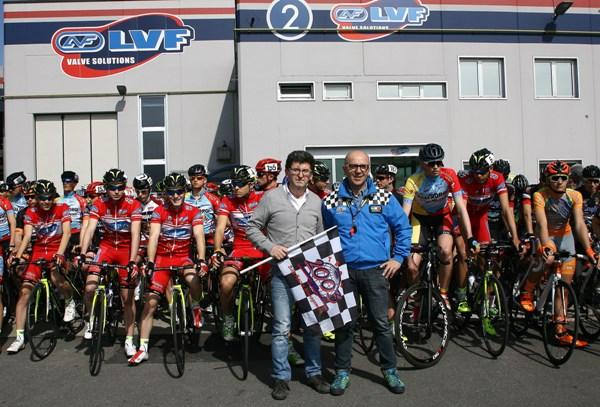 Antonio Torri e Patrizio Lussana danno il via alla stagione agonistica Juniores in Lombardia (Foto Berry)