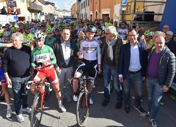 Premiazione Milani e Consonni - Acquanegra 2015 (Foto Rodella)