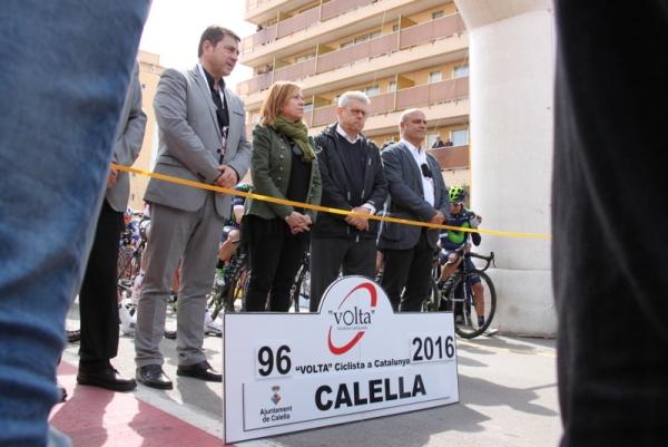 Il Giro della Catalogna rende omaggio alle vittime del ghrave incidente stradale (JC Faucher)
