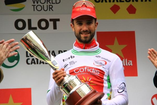 Bouhanni con la Coppa (JC Faucher)