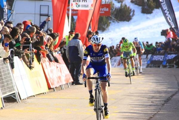 Daniel Martin vince a La Molina (Foto JC Faucher)