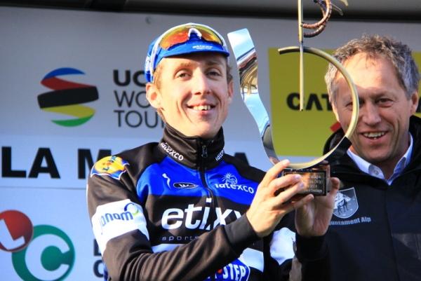 Daniel Martin premiato a La Molina (Foto JC Faucher)