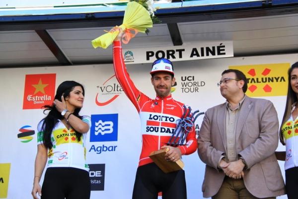 De Gendt sul podio (JC Faucher)