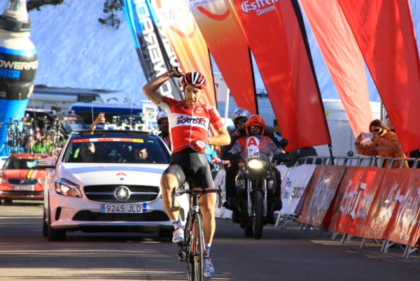 Thomas De Gendt vince la 4^ tappa (JC Faucher)