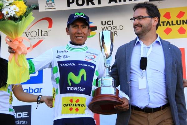 Nairo Quintana leader classifica generale Catalunya (JC Faucher)