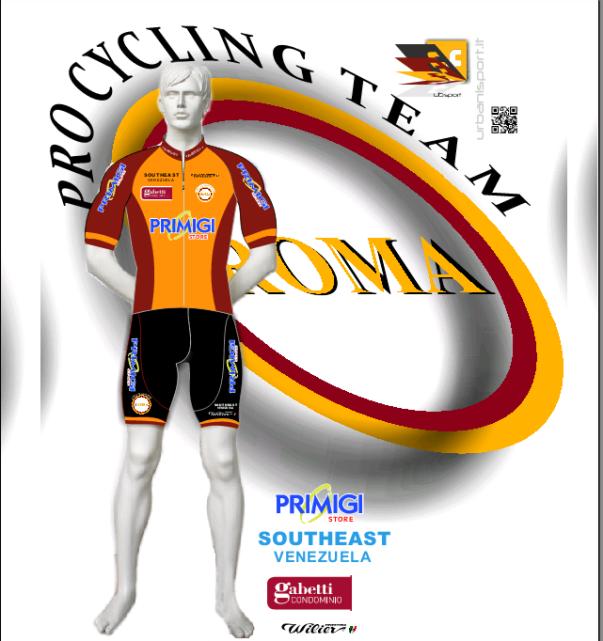 26.02.16 - LOGO ASD ROMA PRO CYCLING TEAM  FCI 2016