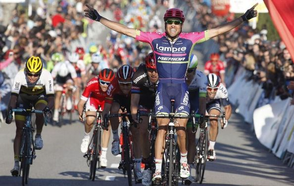 Cimolai vince a Vilanueva i la Geltru (Foto Bettini)
